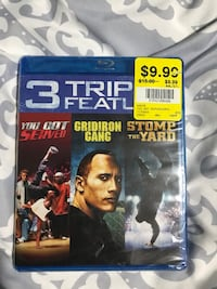 Triple Feature DVD Mississauga, L4Z 1S2