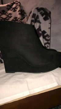 Black Ankle Booties  Division No. 11, T8T 1A3