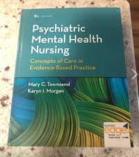 Used Psychiatric Mental Health Nursing Concepts Of Care In Evidence