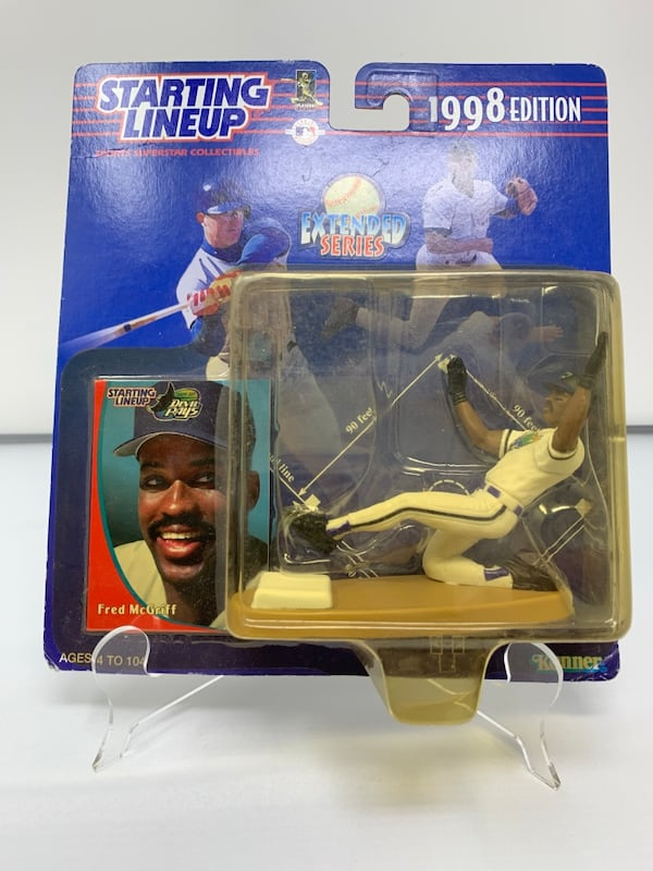 Vintage Tampa Bay Devil Rays Starting Lineup Action Figure [Brand New] 67591091-a6e2-45c2-a26d-1fcf6b3c9927