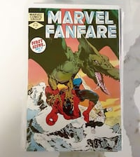 First issue Marvel Fanfare comic Richmond Hill, L4C 4T1
