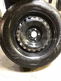 4 GOOD YEAR TIRES WITH RIMS for sale!!!
