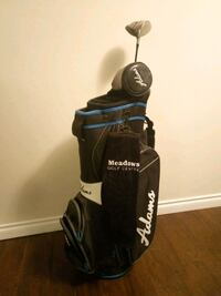 black and blue golf bag Burnaby, V5E 3A2