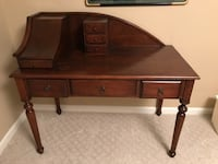 Antique Indian Desk SILVERSPRING