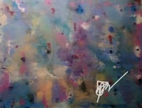 Hand-painted one of a kind abstract painting Cockeysville