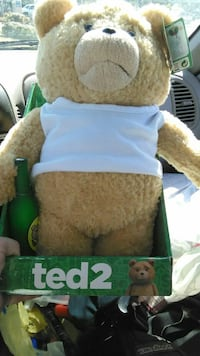 brown Ted 2 bear plush toy Commerce, 30529