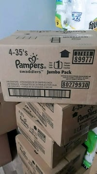 Pampers Swaddlers Size 1 $25 Birmingham, 35217