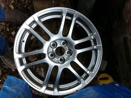 Toyota Scion TC wheels only. Excellent condition, like new. No scratches need to be cleaned. 5x100 bolt pattern.