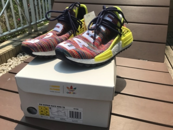c7ffcde46 Used Pharrell x Adidas NMD Hu Trail Multicolor for sale in HONGKONG ...