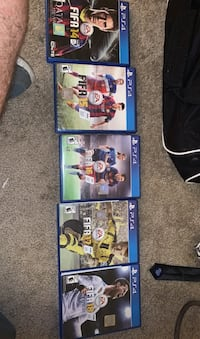 FIFA 14-18 selling all together or separate is negotiable