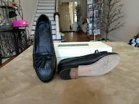 pair of black tassel loafers Union Point, 30669