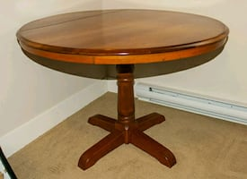 42 inch cherry table