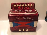 Toy accordion. Perfect gift for child Burnaby, V5H 1Z9