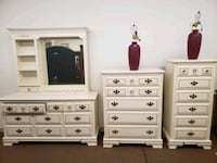 white wooden dresser with mirror Hagerstown, 21742
