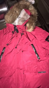Red and black parka jacket Winnipeg, R2M 5B1