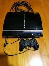 black Sony PS3 slim console with controller Vienna, 22180