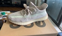 Yeezy 350 citrin - size 8.5 - new in box never worn