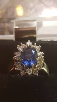 Sapphire Diamond Ring with diamonds $1999 New Westminster, V3M