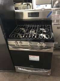 "New Frigidaire 30"" stainless steel 5 burners gas stove 6 months warranty  Baltimore, 21215"