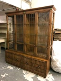 Drexel Two-Piece China Cabinet