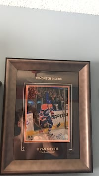 Ryan Smyth Authentic Autographed Picture in Frame! Edmonton, T5X 3W2