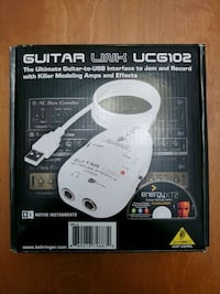 Guitar-to-USB Interface