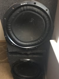 black Pioneer subwoofer with enclosure Baton Rouge, 70820