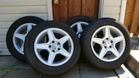 "P225/60R 16"" Wheels & Rims Hamilton, L8T 1H6"