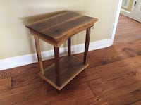 brown wooden side table with drawer Rising Fawn, 30738