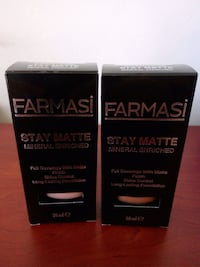 Farmasi Stay Matte Fondöten 30 mL