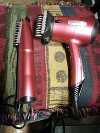 red and black Conair hair dryer and straightener Ottawa, K1K 1Y5