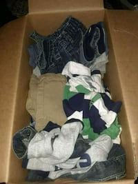 2 boxes of mixed name brand clothes and more Jonesboro, 30236