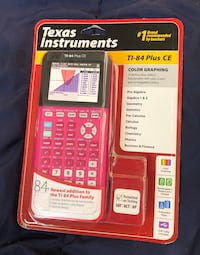 TI-84 Color Edition (CE) Graphing Calculator Pink Athens