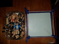 white blue wrestling court and action figure lot Hagerstown, 21740