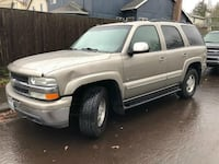 2003 Chevrolet Tahoe Gold Newberg, 97123