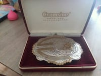 Silver plated competition horse buckle Mooresville, 46158