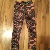 black and white floral pants Calgary, T2T 4M5