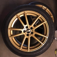 "18""BBS rims lowpro Zenna tires New Westminster, V3L 5P4"