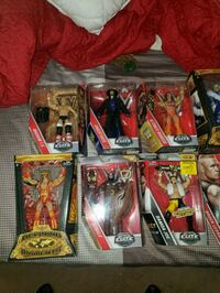 Wwe figures new I  box for trade