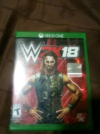 Wwe2k 18game for xbox one Bakersfield, 93306