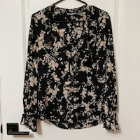 Karl Lagerfeld almost new floral blouse (small)