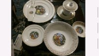 Antique Dinner Set ( Stetson)