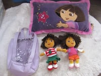 DORA - pillow, back pack and 2 Beanie babies Calgary, T2Y 3J8