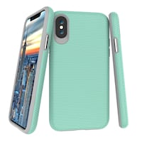Case for iPhone X Teal Boise