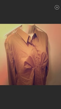 New York & CO. Long sleeve blouse button up Baltimore, 21213