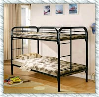 twin twin bunkbed frame with 2 mattresses new  Falls Church, 22041