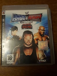 Sony PS3 Smack Down Vs Raw 2008 cas Tourcoing, 59200