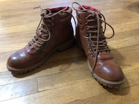 pair of brown leather work boots Manchester township, 17406