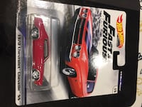 Hotwheels Premium Fast and Furious 1/4 Mile Muscle Brampton
