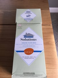 Electrolux Hepa- Air Filter and Genuine Filter Bags - Anti-microbial Filter 24 Filter bags. Style R; fits Electrolux canister models Renaissance, Epic 8000, Lux 9000 and Guardian.  Mount Airy, 21771